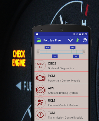 FordSys Scan Free (OBD2 & ELM327) - screenshot