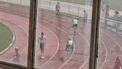 Photo: Départ de Mathieu (400 m, nouvelle recrue)