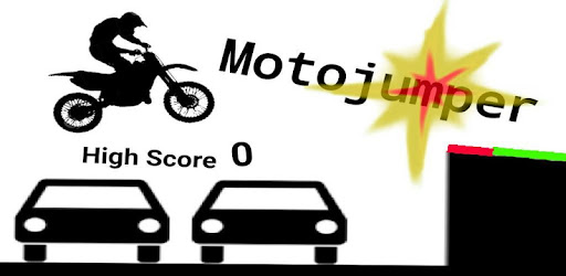 A simple score based motorcycle jumping game