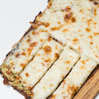 Cheesy Zucchini Breadsticks