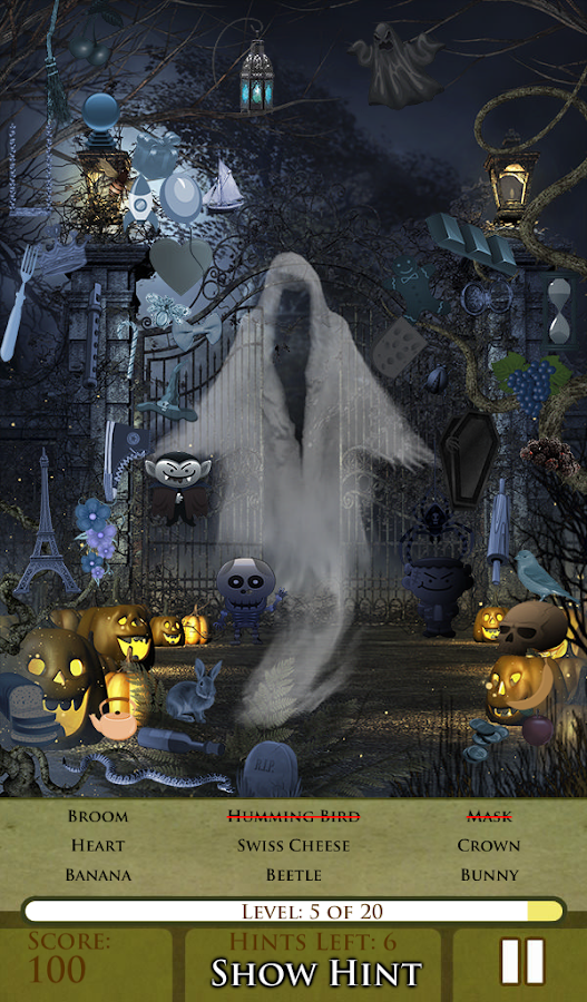 Hidden Object - Happy Haunts- screenshot