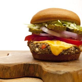 Gluten-Free, Dairy-Free Mushroom Veggie Burgers