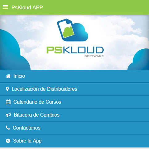 Pskloud App- screenshot