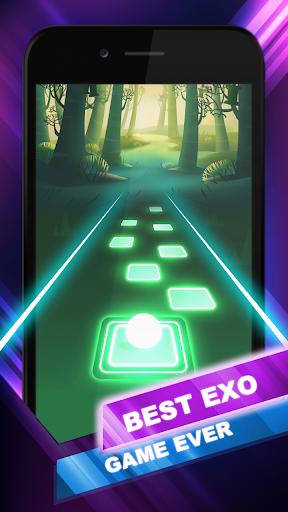 EXO Hop: Obsession KPOP Music Rush Dancing Tiles! 5.0.0.6 screenshots 5