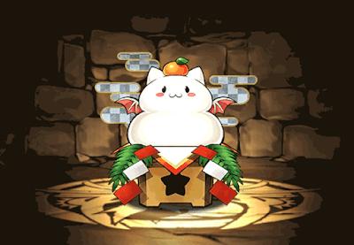 正月のパズドラ鏡餅【銀】