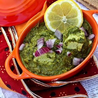 Saag Paneer – Creamy Seasonal Greens with Tofu and Spinach