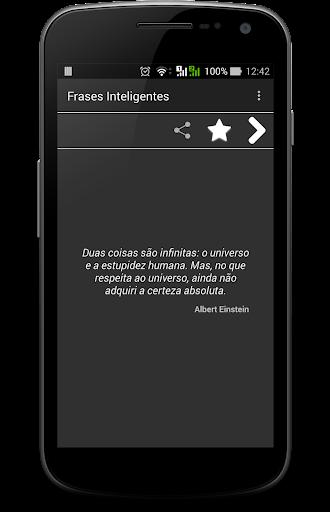 玩免費娛樂APP|下載Frases Inteligentes app不用錢|硬是要APP