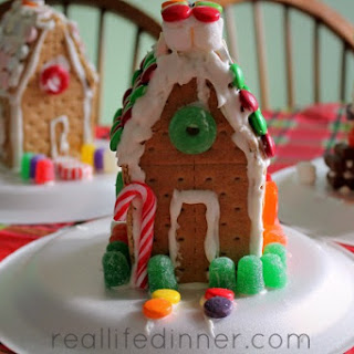 Graham Cracker Gingerbread Houses and Royal Icing