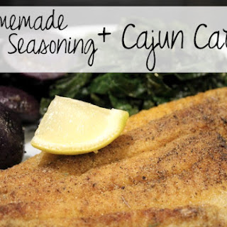 Homemade Cajun Seasoning.