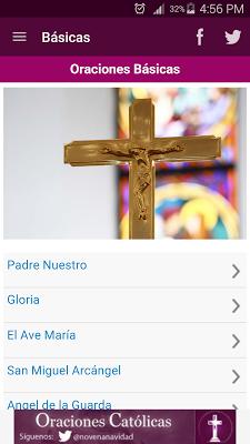 Oraciones Católicas - screenshot