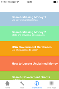 Unclaimed Money - náhled