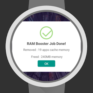 Ram Booster for Wear- screenshot thumbnail