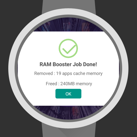 Ram Booster for Wear- screenshot