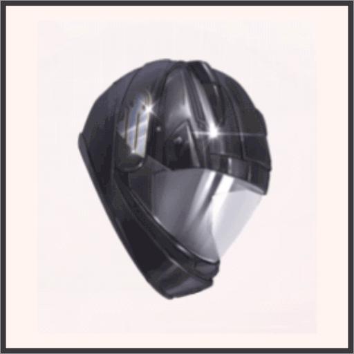 風夜のヘルメット