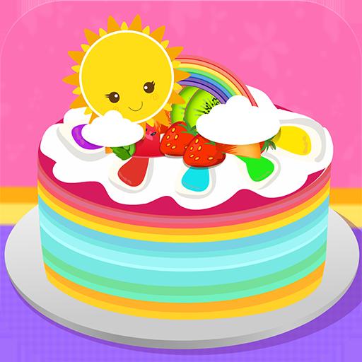 休閒App|スーパー虹のケーキ LOGO-3C達人阿輝的APP