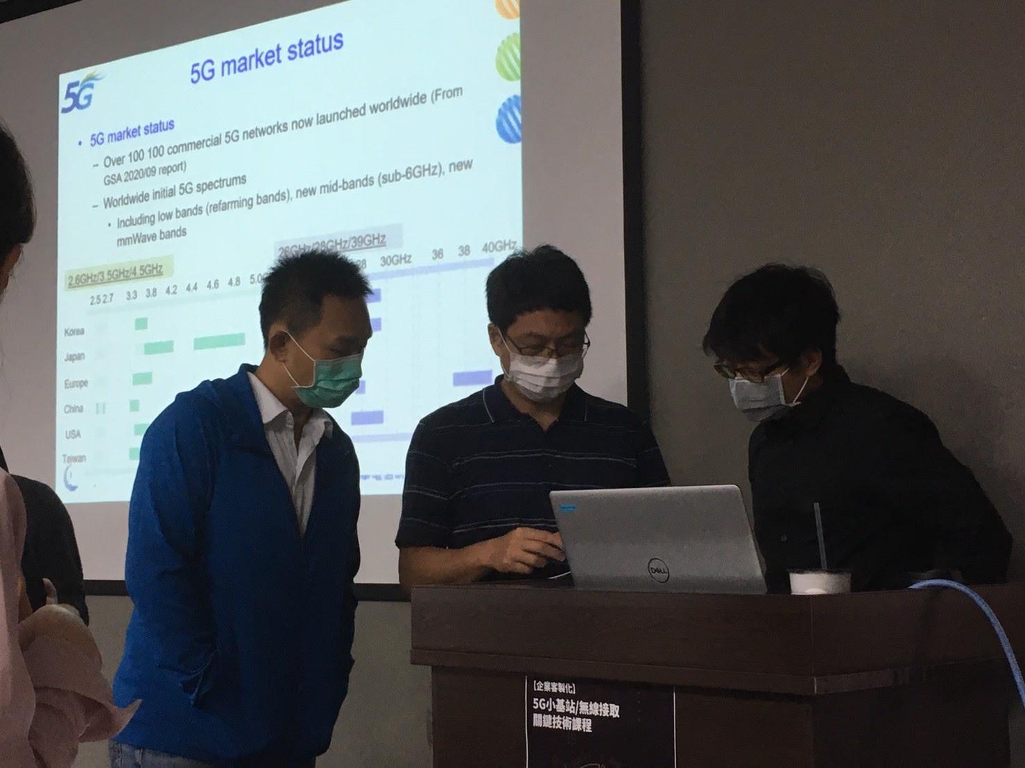 圖2: 講師與學員互動熱絡