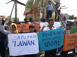 Aksi damai Demo wartawan di Kab Ngawi