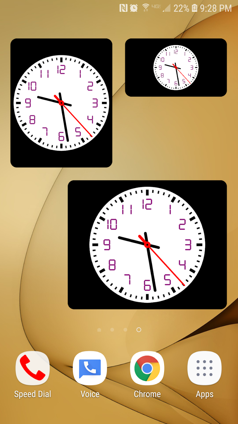Clock Seconds Pro + Widget Screenshot 4