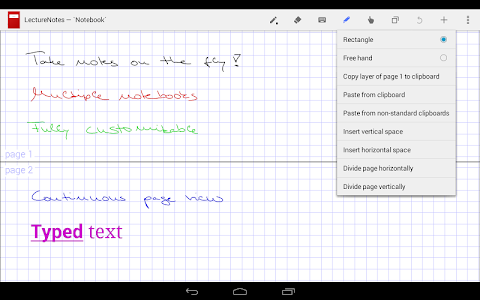 LectureNotes screenshot 3