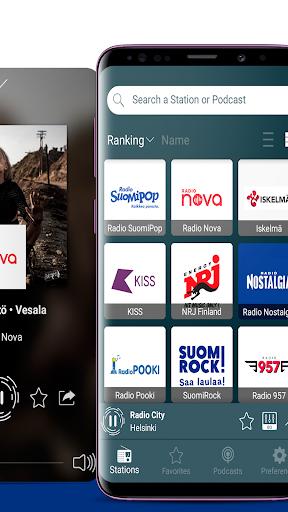 Nettiradio Suomi - Internet Radio, FM Radio screenshots 2