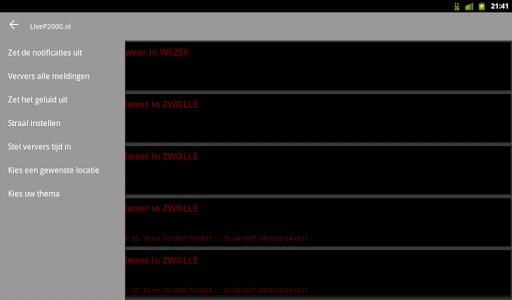 LiveP2000.nl - Free Meldingen v1.3.1c Screenshots 10