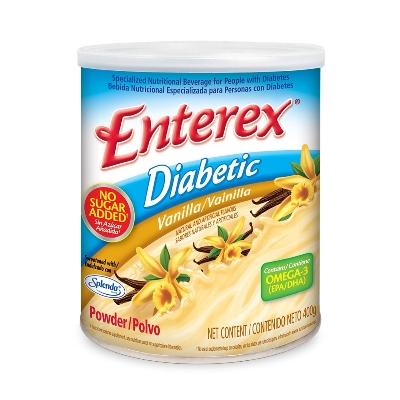 suplemento alimenticio enterex diabetic vainilla 400g