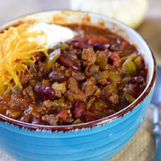 Make Ahead Freezer Chili (in the crock pot).