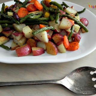 Easy Roasted Vegetables.