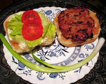 Crunchy Teriyaki Burgers