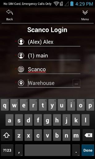 Scanco Acumatica Warehouse 180907.1 screenshots 1