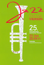 Photo: 25. Intern. Jazzfestival Viersen 2011 - scan Vorderseite Programm