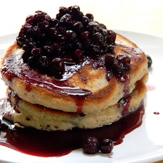 Wild Berry Oat and Whole Wheat Pancakes