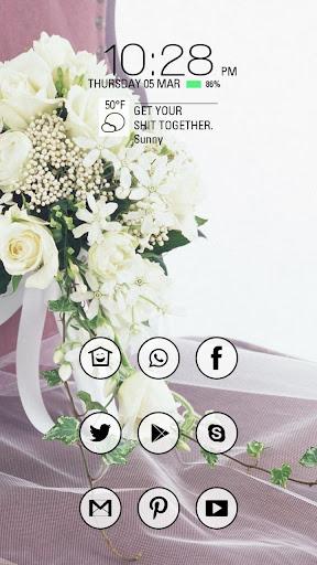 美丽白色玫瑰花束主题