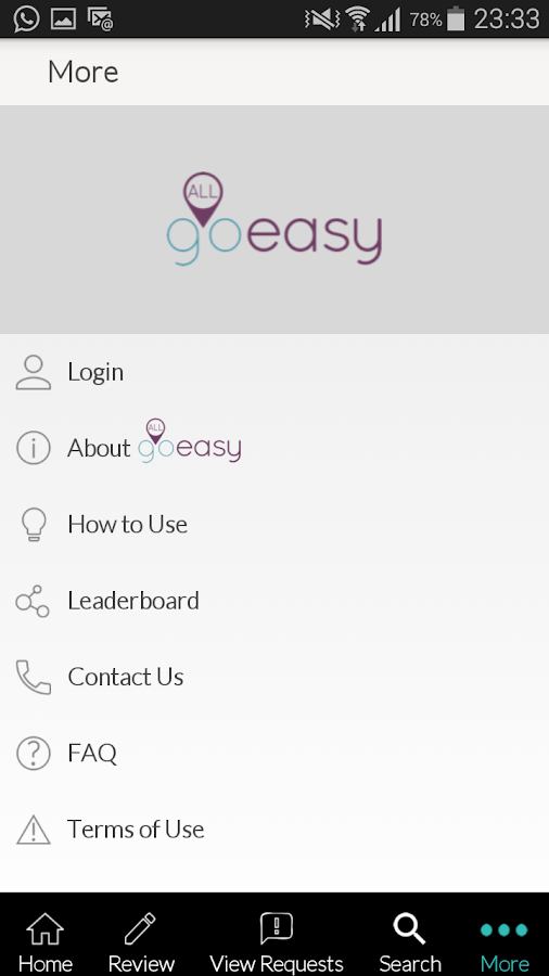 AllGoEasy- screenshot