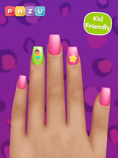 Girls Nail Salon - Manicure games for kids 1.07 screenshots 11