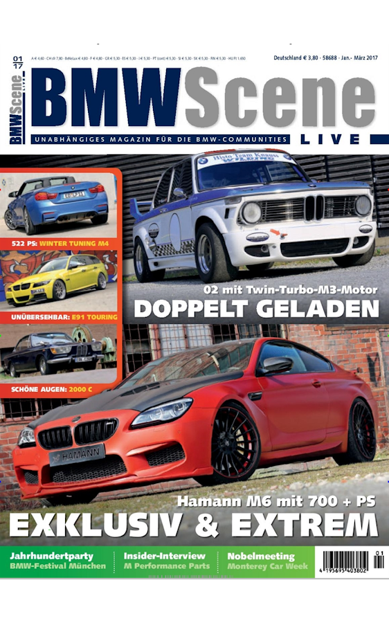 BMW Scene Live · epaper- screenshot