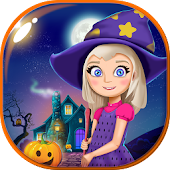 Halloween Doll House Games 3D