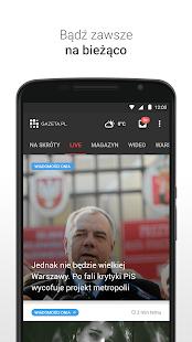 Gazeta.pl LIVE - náhled