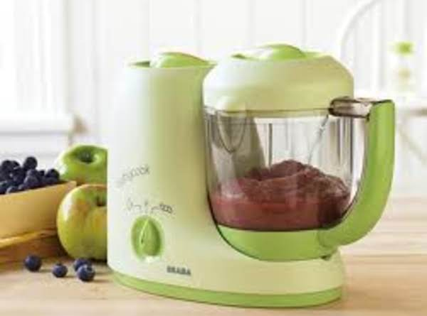 Apple And Blueberry Puree (6 Months+) Babyfood Recipe