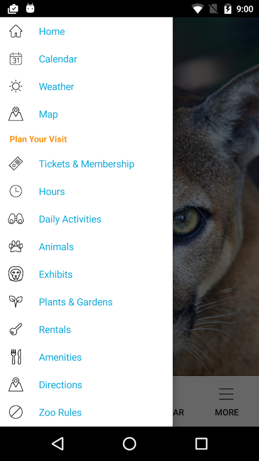 Zoo Miami for Android- screenshot