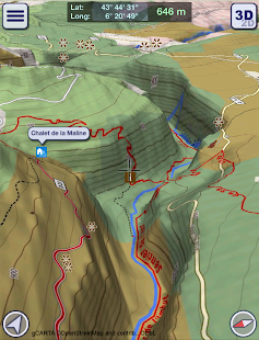 GeoFlyer Europe 3D - Offline Maps GPS Routing- screenshot thumbnail