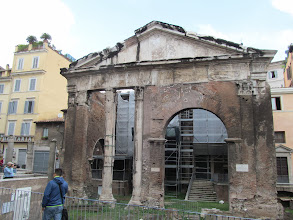Photo: Porticus Octaviae (after some later modification)