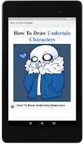 How To Draw Undertale - screenshot thumbnail 01