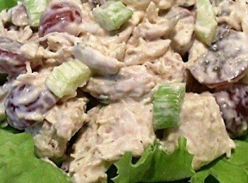 Deluxe Honey Pecan Chicken Salad Recipe