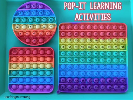 15 Ways to Use Pop It Fidget Toys for Learning