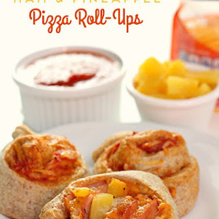 Brynlee's Ham and Pineapple Pizza Roll-Ups