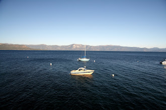 Photo: Lake Tahoe is 22 miles long and 12 miles wide. It is the largest alpine lake in North America
