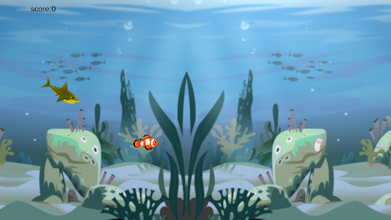 Shark and Fish - náhled