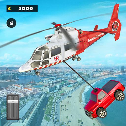 911 Helicopter Flying Rescue City Simulator – Aplikacje w