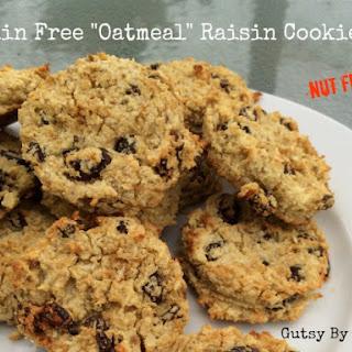 """Oatmeal"" Raisin Cookies (Grain Free, Dairy Free, Nut Free)."